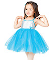 """Butterfly Kisses"" Child Empire Waist Dress - Style No TH1008C"