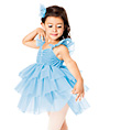 Blue Heaven Child Flutter Sleeve Dress - Style No TH1015C