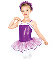 """""""On Your Toes"""" Child Camisole Dress - Style No TH1026C"""