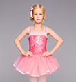 """Pink Perfection"" Girls Tutu Dress - Style No TH1039C"
