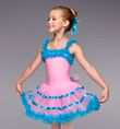"""Music Box"" Dancer Girls Tutu Dress - Style No TH1049C"