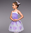 """Tea for Two"" Girls Tutu Dress - Style No TH1061C"
