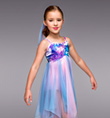 """Dreamer"" Girls Lyrical Dress - Style No TH1065C"