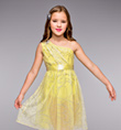 """Sunbeams"" Girls Lyrical Dress - Style No TH1068C"