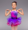 """Purple Twilight"" Girls Tutu Dress - Style No TH1071C"