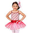 """Peppermint Pirouettes"" Girls Tutu Dress - Style No TH1073C"
