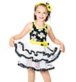 """Daisy, Daisy"" Child 3 Tier Dress - Style No TH2000C"