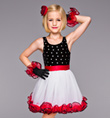 """Broadway Baby"" Child Tank Dress - Style No TH2014C"