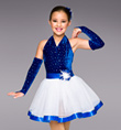 "Girls ""Holiday Sparkle"" Tutu Dress - Style No TH2021C"