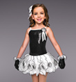 """Opposites Attract"" Girls Tutu Dress - Style No TH2027C"