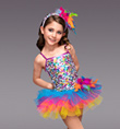 """Carnivale"" Girls Tutu Dress - Style No TH2043C"