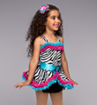 """Zany Zebra"" Girls Costume Set - Style No TH3017C"
