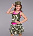 """Glam-O Camo"" Girls Costume Set - Style No TH3019C"