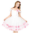 In Bloom Child Romantic Tutu Dress - Style No TH4001C