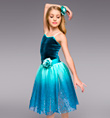 """Reflections"" Girls Romantic Tutu Dress - Style No TH4016C"