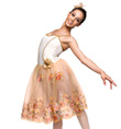 """Autumn"" Adult Romantic Tutu Dress - Style No TH4017"