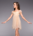 """Heavenly"" Girls Lyrical Dress - Style No TH4022C"