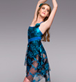 """Written in the Stars"" Adult Lyrical Dress - Style No TH4024"