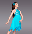 """Time After Time"" Girls Lyrical Dress - Style No TH4040C"