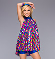 """Disco Dots"" Adult Tunic Dress - Style No TH5015"