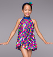 """Disco Dots"" Girls Tunic Dress - Style No TH5015C"