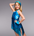 """Cool Like Me"" Girls One-Piece - Style No TH5018C"