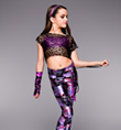 """Hip Hop Hooray"" Girls Costume Set - Style No TH5031C"