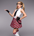 """Goody Two-Shoes"" Girls Costume Set - Style No TH6004C"