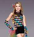 """Harlequin"" Girls Costume Set - Style No TH6009C"