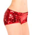Adult Sequin Hot Dance Short - Style No TT009