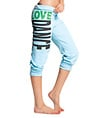 "Adult and Child ""Love Dance"" Crop Sweat Pants - Style No UC3352"