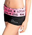 Adult and Child Bling Love Yoga Short - Style No UC5466