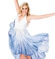 Hi-Lo Halter Dress - Style No WC202