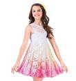 Girls Lace Tank Overdress - Style No WC203C