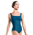 """Titania"" Adult Ribbed Bodice Tank Leotard - Style No WM108"