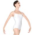 "Adult ""Japura"" Ribbed Panel Camisole Leotard - Style No WM136"