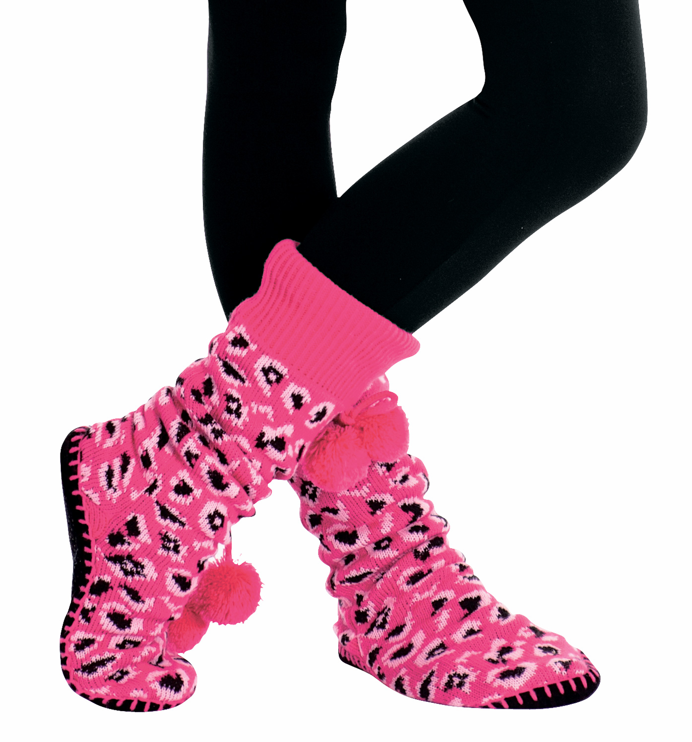 Thick Knit Slipper Socks - Shoes | DiscountDance.com