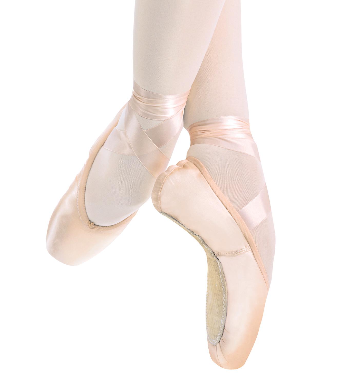 Pink pointe shoes clip art