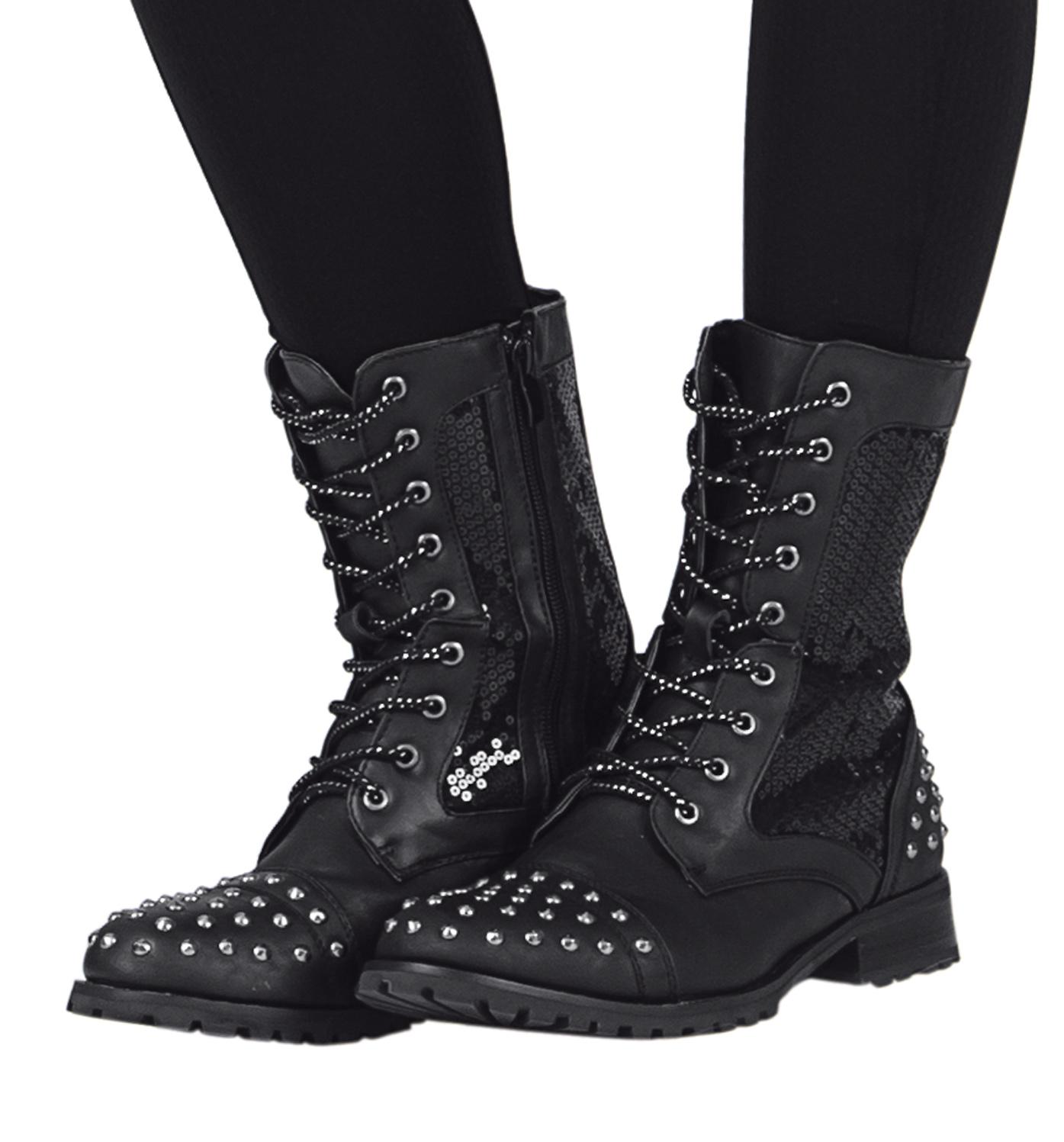 Girls studz combat boot style number gs11c