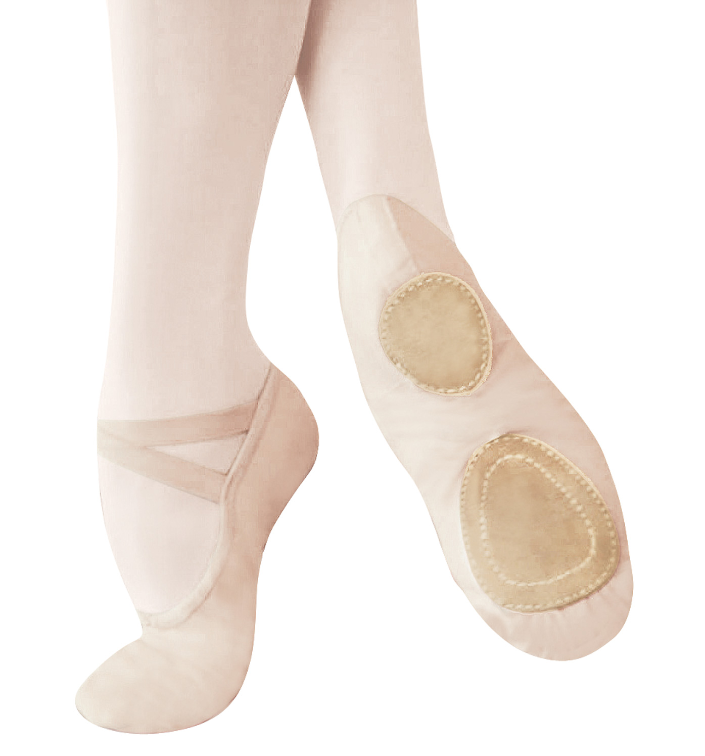 how to clean mdm ballet shoes