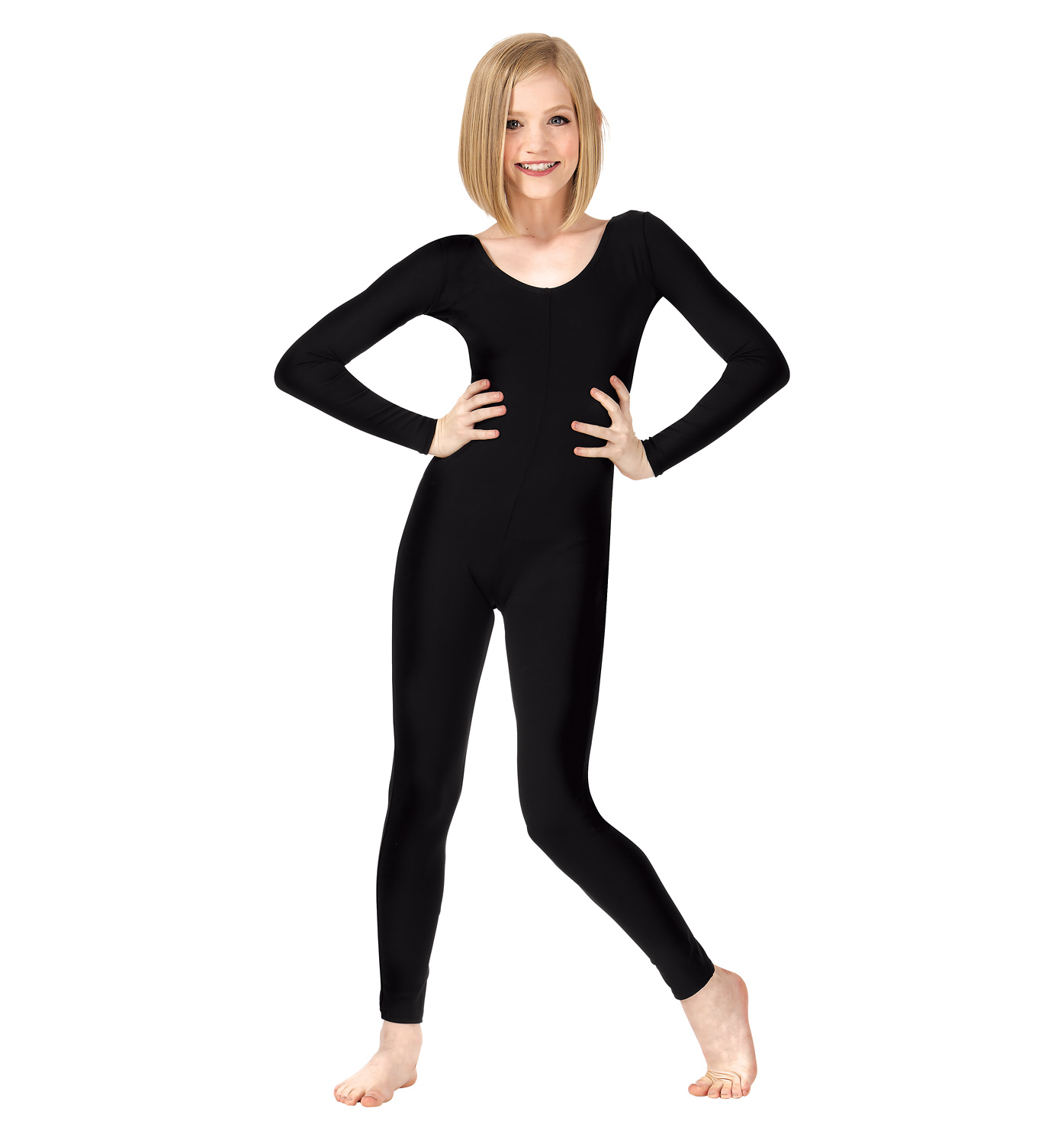 team basics long sleeve unitard unitards. Black Bedroom Furniture Sets. Home Design Ideas