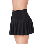 Skirt with Roll Down Waist