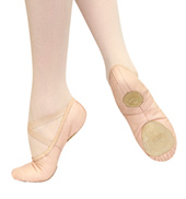 Adult Opus Classic Split Sole Leather Ballet Slipper