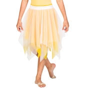 Child Double Layer Chiffon Skirt