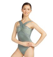 Adult Metro Fusion Cross Front Tank Leotard