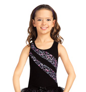 Child Glam Fantastique Racerback Leotard