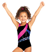 Child Stellar Asymmetrical Tank Leotard