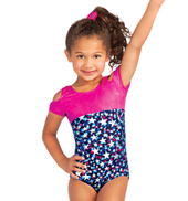Child Stellar Cold Shoulder Leotard