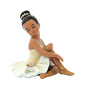 Sitting Ballerina Figurine