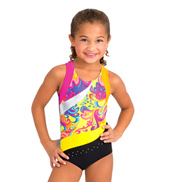 Child Slash Racerback Leotard